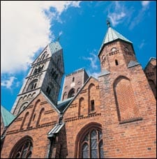 ribe cathedral denmark Baltic States Tour